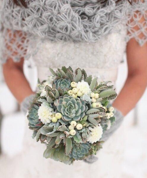 Ramo de novia, especial para invierno.