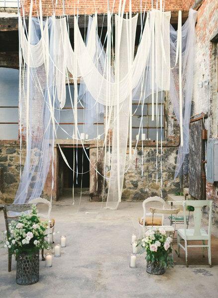 Decoración de boda estilo industrial 2017.