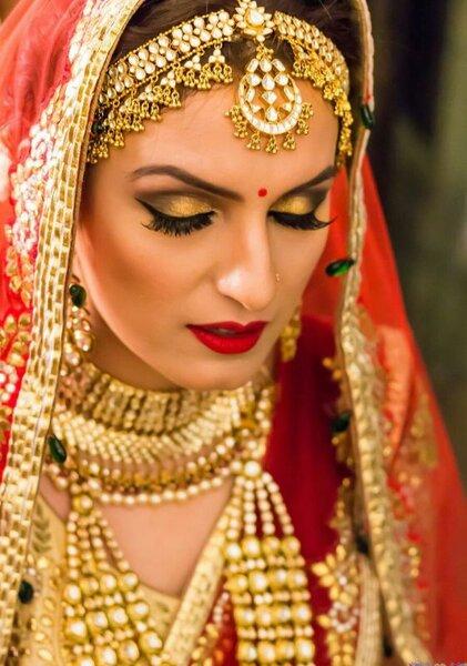 Sakshi Malik Makeup.