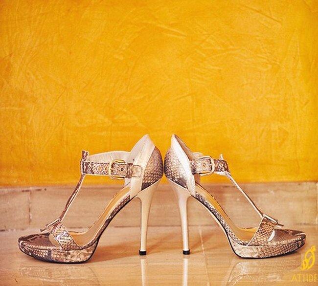 Sandalia semicerrada en el talón.  Foto: Fran Cabades Acttitude