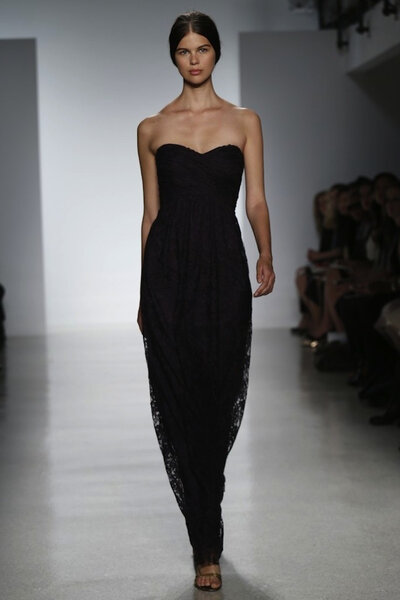 Suknia z kolekcji Amsale 2014