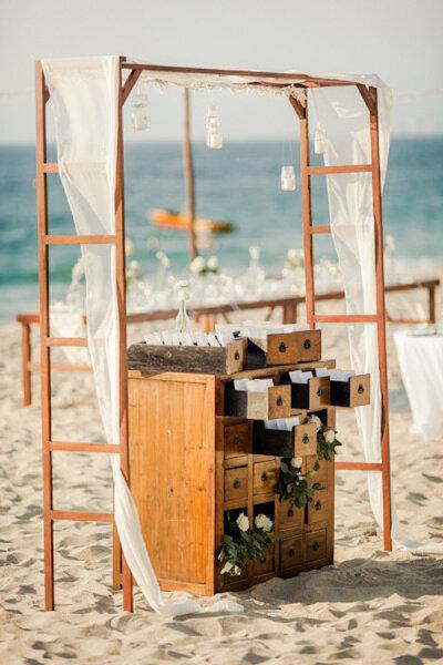 Décoration de mariage à la plage 2017