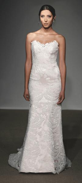 Suknia ślubna projektu Anna Maier Ulla - Maija 2013, model Aimee