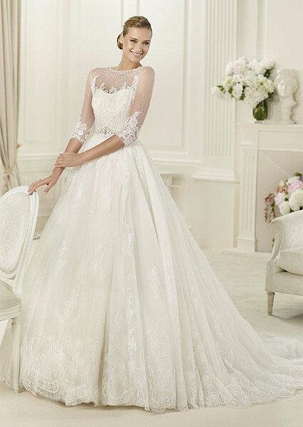 Antevisão da colecção de vestidos de noiva Pronovias 2013