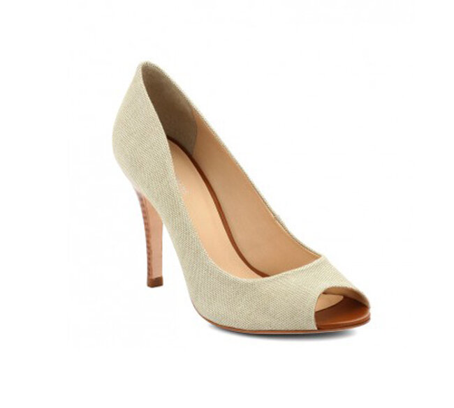 Chaussures de mariée blanches CosmoParis