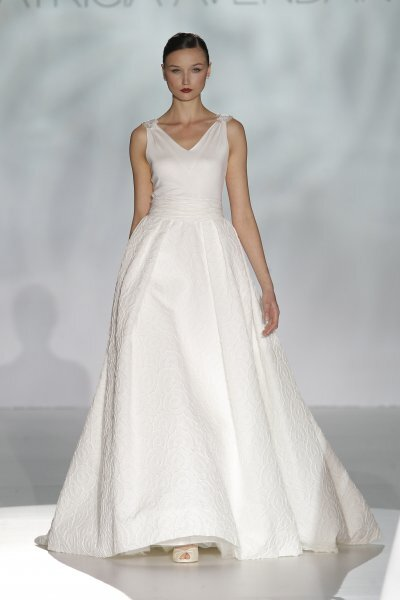 Vestidos de novia primavera 2015 de Patricia Avendaño