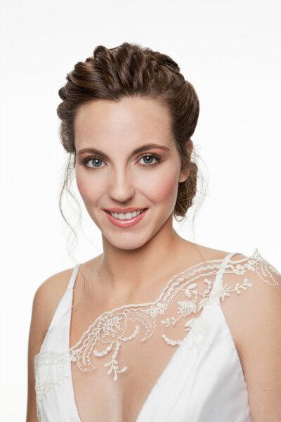 Make up nude quasi impercettibile per la sposa acqua e sapone