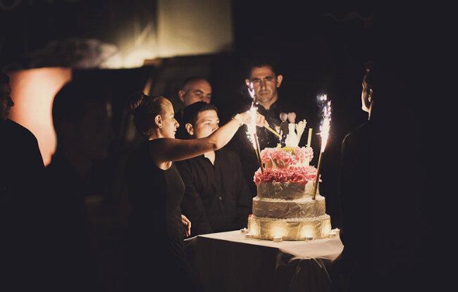 Lindas ideias de bolos de casamento. Crédito: Fran Russo