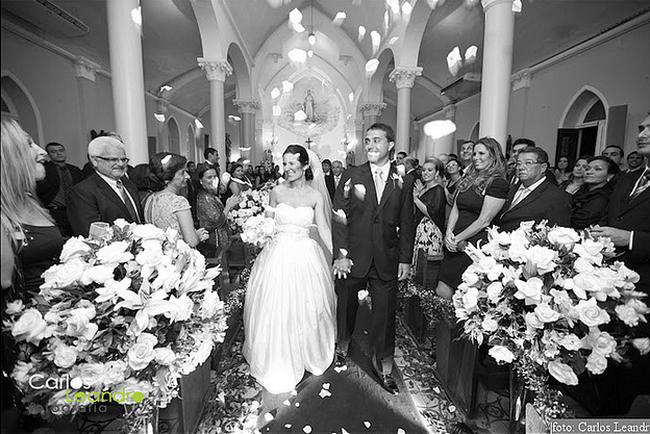 Hochzeitsfoto Schwarz-weiß