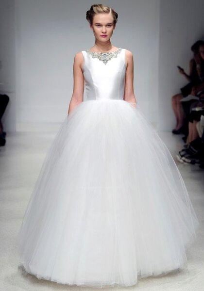 Robe de mariée classique blanche