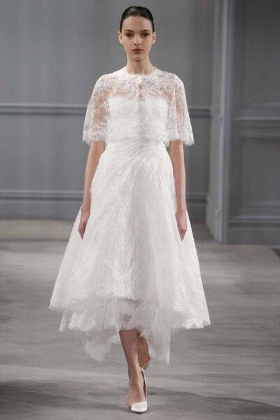 Vestido de novia de Monique Lhuillier - Colección primavera 2014