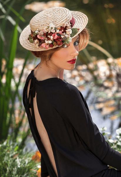 Boater hoeden, een trouwtrend voor 2014 Foto: Anne Poupée