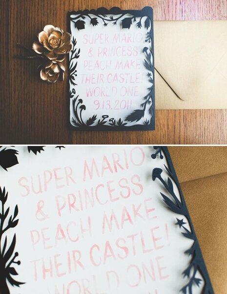 Real Wedding: Una boda muy original inspirada en Mario Bros - Foto Lehua Noelle Photography