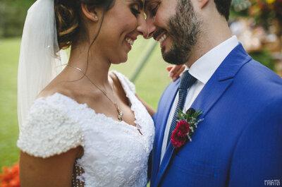 Destination Wedding rústico ao pôr do sol de Itaipava de Ana e Pedro: fim de semana de festa!