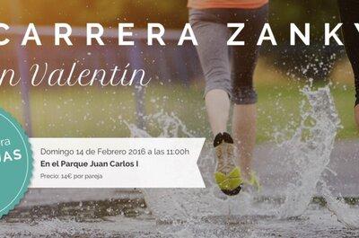 3ª Carrera Zankyou ¡por parejas! en San Valentín