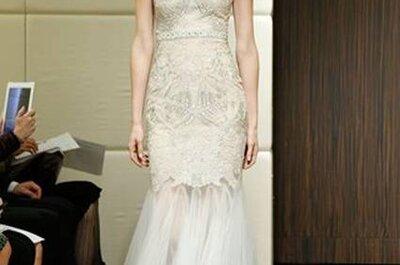 Badgley Mishka Outono 2013: 8 vestidos de noiva encantadores