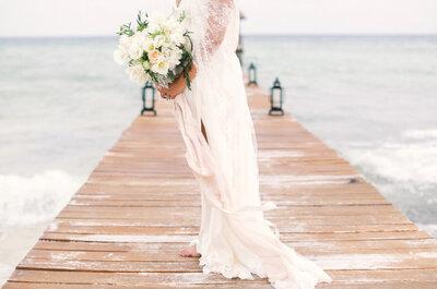 ¿Quieres una boda en la playa? Sigue estos 11 consejos y tu matrimonio será inolvidable