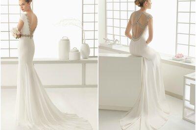 Vestidos de noiva Rosa Clará 2016: elegância, glamour e personalidade
