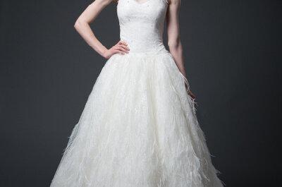 Wiosenna kolekcja sukien ślubnych Sareh Nouri 2013