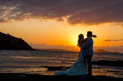 Débora & Chico: casamento rústico chique à beira mar em Búzios!