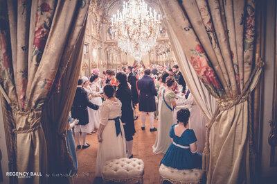 ¿Imaginas una boda de recreación histórica?
