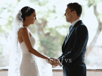 Desde que lo vi sabía que me iba a casar con él: Así fue la boda de Moni y Armando