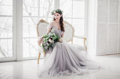 Зимний образ для невест: красиво и стильно