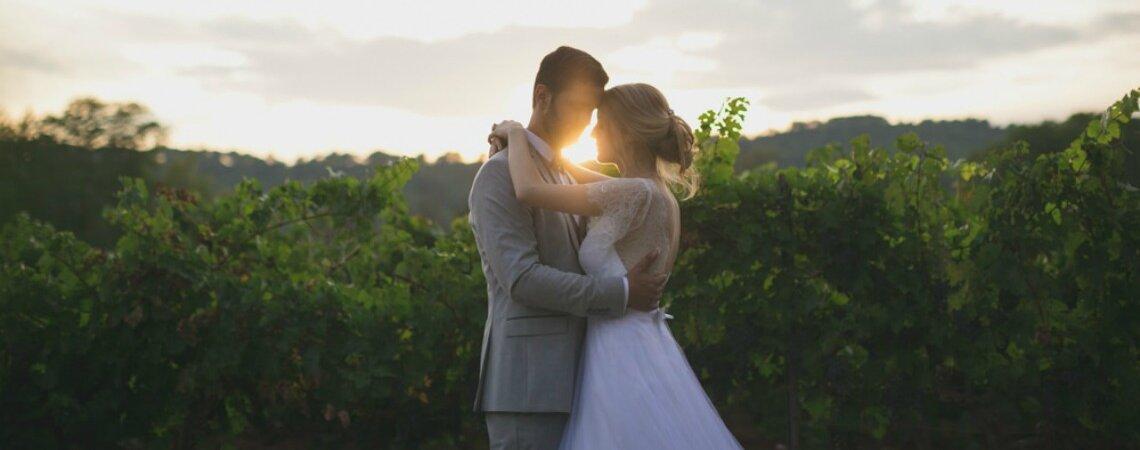 Laurine et Nicolas : un très joli mariage vintage et DIY, organisé par la maman de la mariée !