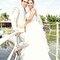 27. Nayeli y Juan José disfrutando de sus primeras fotos como esposos