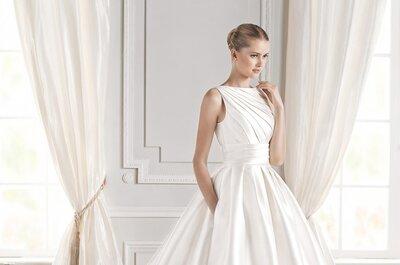 Últimas tendencias de vestidos de novia con bolsillos ¡únete a ellas!