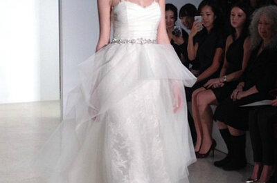 Collezioni Sposa 2014: i momenti top10 dalla New York Bridal Week