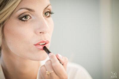 Maquillaje de labios para novias 2016. ¡La tendencia del mate sigue siendo muy sensual!