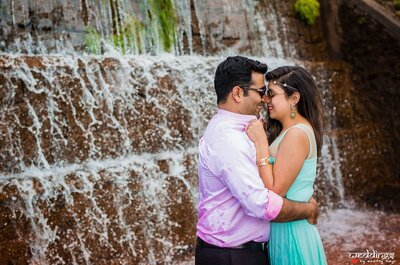 Amazing Real Wedding of Gaurav and Saloni: The one with love in the air
