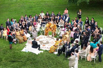 Doçura, cor e muito amor em um casamento persa: Nasim e Shek