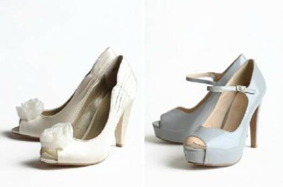 Sapatos vintage para noiva - Coleção Ruche