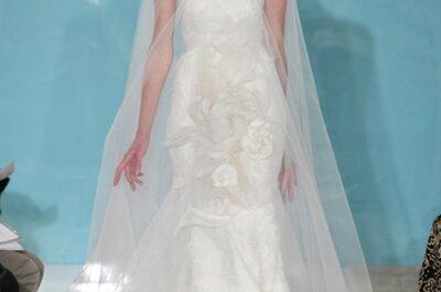 Tendencia de capas para los vestidos de novia del 2013
