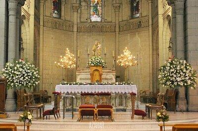 Decoración para la ceremonia religiosa