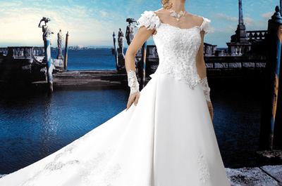 Brautkleider mit Schleppe: So heiraten Sie im Jahr 2012 im Trend!