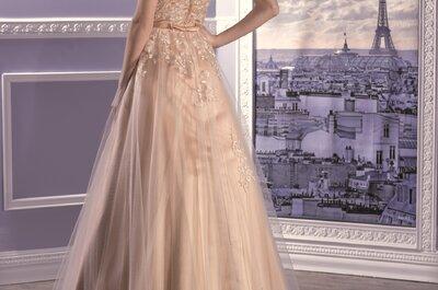 Robes de mariées originales et romantiques : découvrez la Collection Miss Paris 2017 !