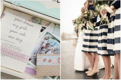 Originales ideas para regalos y vestidos de damas de honor