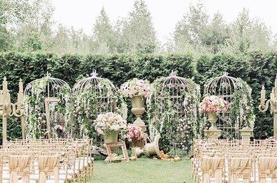 Свадьба в стиле шебби шик: советы по оформлению!