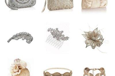 Acessórios finos e elegantes para a mãe da noiva