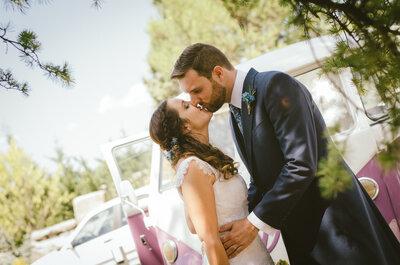 La suma de los pequeños detalles: la boda silvestre de Julia y Juan