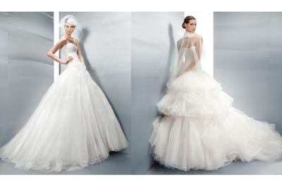 Clase y elegancia: vestidos de novia 2013 de Jesús Peiró