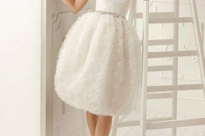 Hoje o meu vestido de noiva preferido é... de algodão doce! De Aire Barcelona 2013
