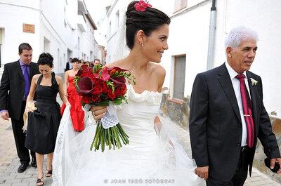 Hochzeitsdekoration in Rot – Ideen von Zankyou