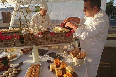 Los 12 mejores catering para bodas en Sevilla