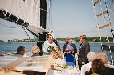 Maritime Hochzeit – Heiraten auf hoher See