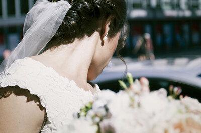 Peinados de novia perfectos para llevar con velo