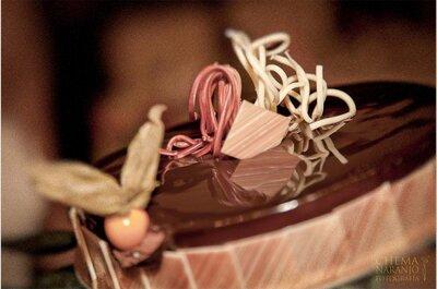 Sündhaft lecker: Schokoladenhochzeitstorte mit echter Schweizer Schokolade